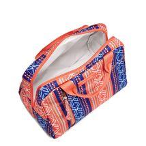Vera Bradley Water-Repellent Lighten Up Lunch Cooler Bag, Bright Serape Stripe image 2