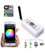 WiFi Cell Phone Apple iOS Android RGB LED Color Changing Light Remote Co... - $34.95