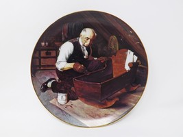 "Knowles ""Grandpa's Gift"" Collectible Plate - Rockwell's Golden Moments - $16.14"