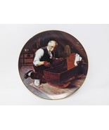 """Knowles """"Grandpa's Gift"""" Collectible Plate - Rockwell's Golden Moments - $16.14"""