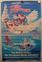 THE RESCUERS A Walt Disney Classic 1977-Poster - $14.56