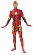 Rubies 2nd Skin Marvel Comics Iron Man Adult Mens Halloween Costume 880825 - $44.99