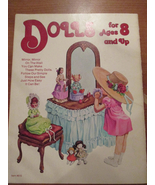Dolls for Ages 8 and Up Vintage Fabric Craft Bo... - $3.50