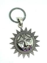 Sun Keyring Surya Sun Hindu Face Key Ring Metal Luck Gift Artisan Large ... - $6.79