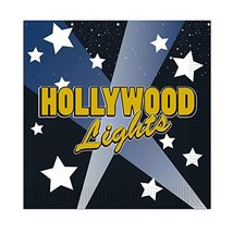 Club Pack of 192 Multi-Colored Hollywood Lights Disposable 2-Ply Beverag... - $51.97