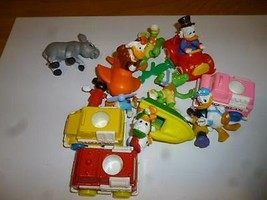 DISNEY PLASTIC TOYS- LARGE ASSORTMENT MICKEY/DONALD/DAISY & MORE- USED- H22 - $3.87