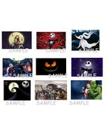 The Nightmare Before Christmas Stickers.Birthday Party Favors,Jack Skell... - $8.99