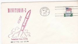 MINUTEMAN-3 LAUNCHED FROM ETR CAPE CANAVERAL FLORIDA MAY 27 1970 - $1.78
