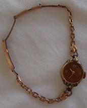 Vintage Munwill Rose Gold Ladies Watch w/ Case Non Working 1120 12K Gold... - $13.09 CAD