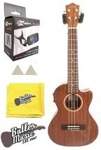 Lanikai MAS-CET Solid Mahogany Acoustic Electric Tenor Ukulele with Case... - $371.50