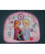 Disney Store Frozen Elsa & Anna Rolling Luggage Carry-On Suitcase Girls ... - $54.89