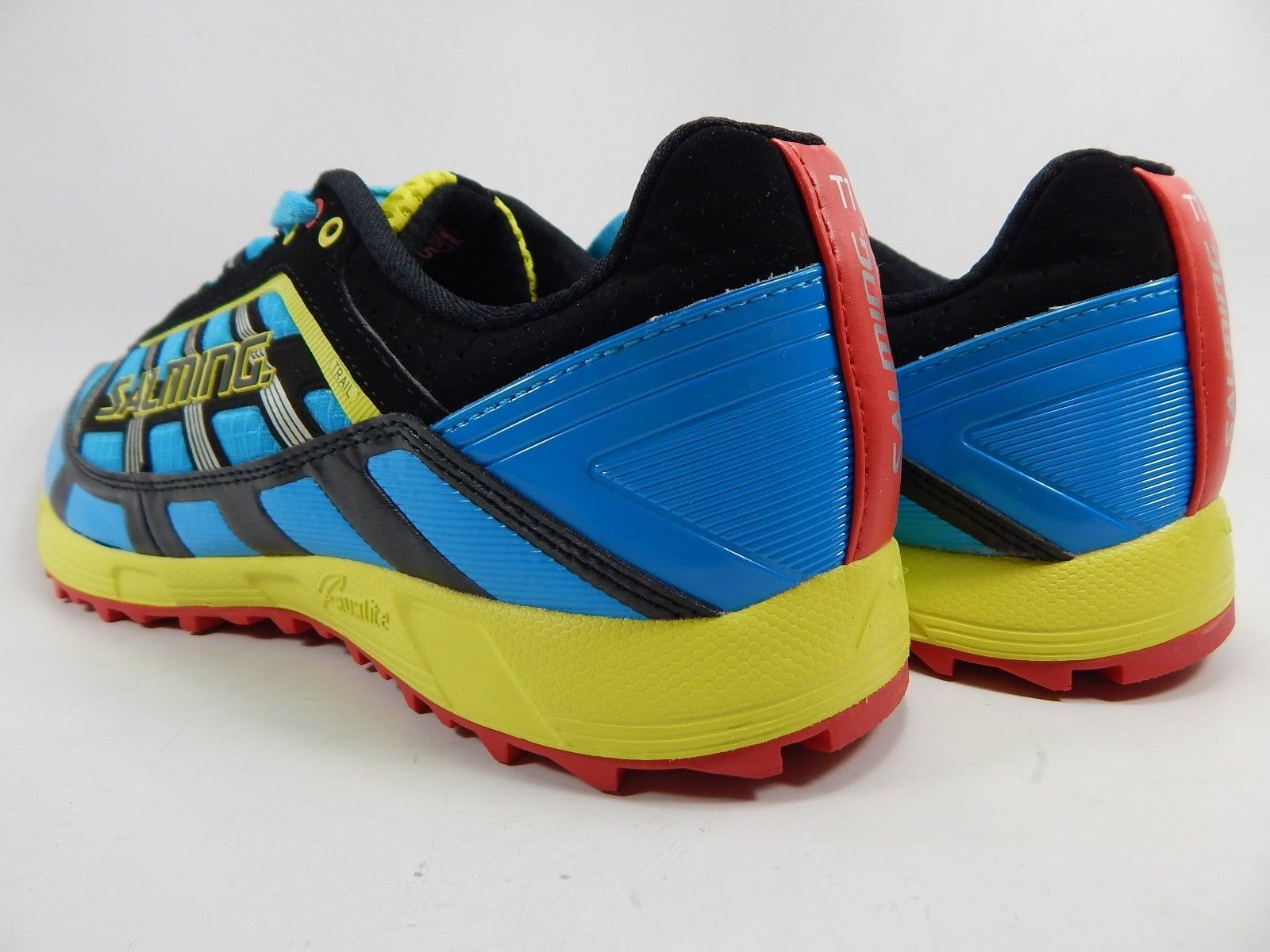 Salming Trail T1 Men's Running Shoes Size US 9.5 M (D) EU 43 1/3 Blue Red