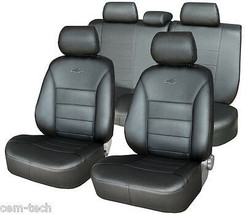 TOYOTA Prado 150 2010-> SEAT COVERS PERFORATED LEATHERETTE  - $173.25