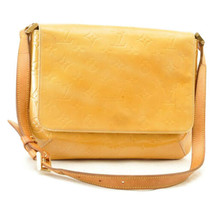 LOUIS VUITTON Vernis Thompson Street Shoulder Bag Beige M91008 LV Auth 8523 - $180.00