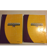 Saxon Math 8/7 with Prealgebra Student Text Teacher Solutions Manual Ans... - $82.16