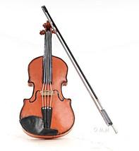Orange Vintage Violin 1:2 Hancrafted Vases & Accents - $44.32