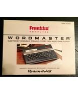 Wordmaster Electronic Thesaurus Franklin Computer Webster Vintage WM-1000 - $25.00