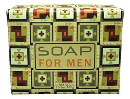 Greenwich Bay Soap Bar for Men, Shea Butter Moisturizing Bar, Men Natura... - $10.57