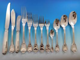 Dupleix by Christofle France Sterling Silver Flatware Set Service 235 pcs Unused - $36,337.50