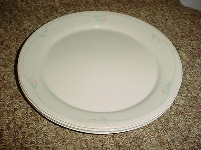 Primary image for CORELLE WINDFLOWER BREAD / DESSERT PLATES 7.25 INCH X 2 FREE USA SHIPPING RARE