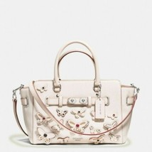 Women's White Coach Blake Butterfly Appliqué Carryall, - $289.17