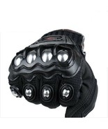 Motorcycle Gloves Madbike Stainless Steel Off Road Automobile Race Knigh... - $22.96
