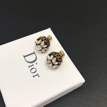 NEW AUTH Christian Dior 2019 DIO(R)EVOLUTION CRYSTAL TRIBALES EARRINGS AGED GOLD image 6