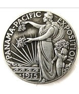 1915 Panama Pacific Exposition Commemorative Half Dollar Casted Coin - $11.99