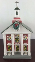 "Vintage 1989 Department 56 Snow Village - ""Colonial Church"" #5119-5 - $18.70"