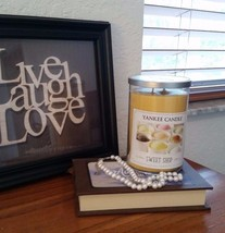 Yankee Candle Large 2-Wick Sweet Shop Scent - Rare - 22 oz  - $39.55