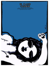 El Caso Cernik blue vintage Film POSTER.Graphic Design.Wall Art Decorati... - $10.89+