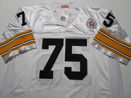 JOE GREENE / NFL HALL OF FAME / AUTOGRAPHED SEELERS WHITE THROWBACK JERSEY / COA image 2