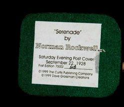 """Serenade"" by Norman Rockwell Figurine AA19-1659 Vintage image 5"