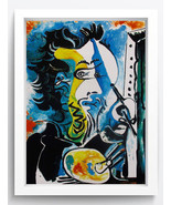 """Abstract Art Oil Painting Print on Canvas""""THE ARTIST Estate""""Home Decor N... - $21.99"""