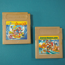 Super Mario Land 1 & 2 ~ 2 Game Lot (Nintendo Game Boy GB) Japan Import - $15.92