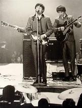 Old Beatles 11X14 Poster Paul McCartney George Harrison - $9.74