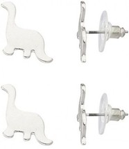 Lux Accessories Brontosaurus Dinosaur Jurassic Multiple Stud Earrings Set. - $22.13