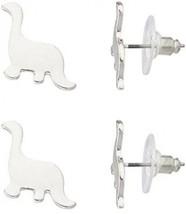 Lux Accessories Brontosaurus Dinosaur Jurassic Multiple Stud Earrings Set. - $22.13