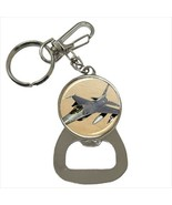 F-16 Fighting Falcon Jet Bottle Opener Keychain - $7.70