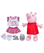 Build a Bear Peppa Pig 2 pc. Outfit Rainbow Dot... - $189.95