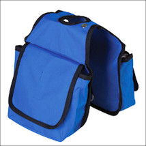 Hilason Western Tack Horse Horn Bag Royal Blue Pockets U-3748 - $16.82