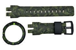 Genuine Casio G-Shock  PRG-300CM-3 Camo-patterned Watch band & Bezel Rub... - $123.95