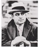 Al Capone 5 Vintage 11X14 BW Mobster Memorabilia Photo - $12.95