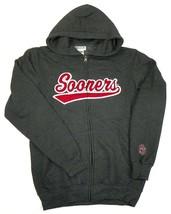 Medium Men's Oklahoma Sooners Hoodie School Favorite Full Zip Hooded Sweatshirt