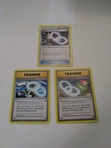 Pokemon 3 Card Lot Blastoise Slowbro And Alakazam Spirit Link Trainer 2016 - $6.93