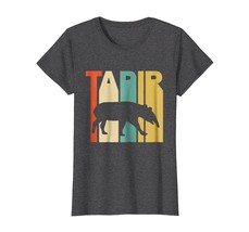 Funny TeeVintage Style Tapir Silhouette T-Shirt Wowen - $19.95+