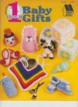Annie's Attic 87G82 1 Hour Baby Gifts 12 Designs Crochet Leaflet Booklet - $4.00