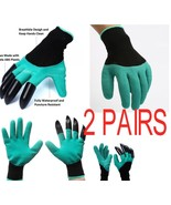 Garden Genie Gloves Claws Hand for Digging Planting One size fits all 2 ... - $14.99