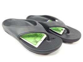 Spenco Fusion 2 Size 8 M (B) EU 39 Women's Lightweight Flip Flop Sandals Black