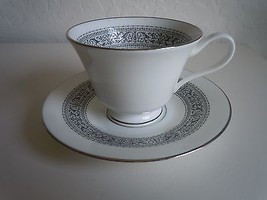 Oxford Lenox Filigree Cup and Saucer  - $16.78